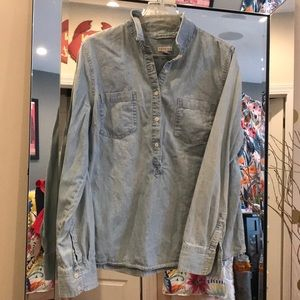 Chambray button down-never worn!!!